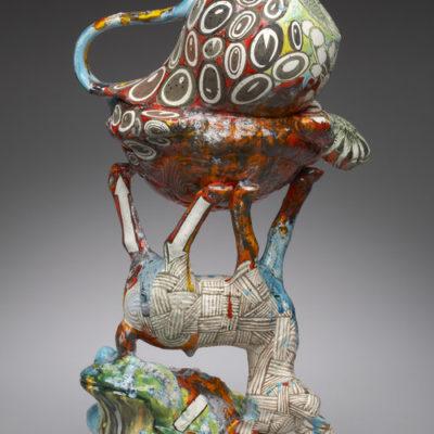 Ceramic sculpture by Edith Garcia