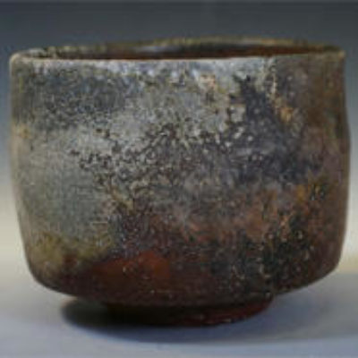 Wood fired ceramic vessel